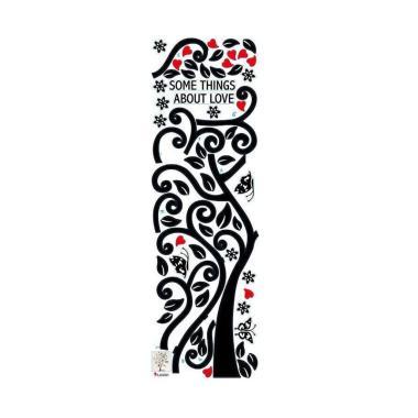 rimas rimas sticker wallpaper dinding family tree   hitam full02 jm1h04d7