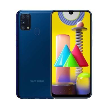 Samsung Galaxy M31 Smartphone [6GB/128GB/ Garansi Resmi] BLUE