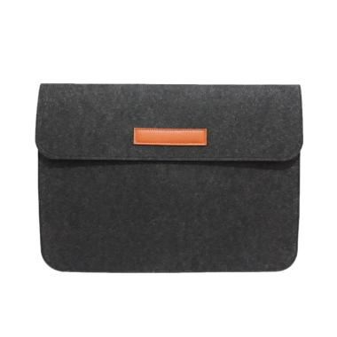 harga adisah store Sleeve Leather Touch Bar Case for Macbook New Air 11/12/14/15 pro retina Blibli.com