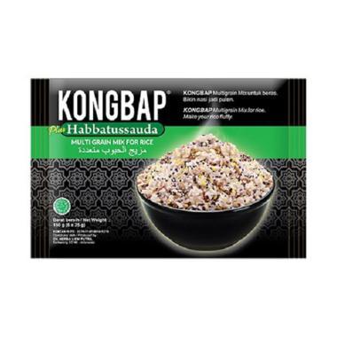 harga SMG/JOG/SOLO - Kongbap Habbatussauda Makanan Organik Lainnya [150 g/ 6 x 25 g] Blibli.com
