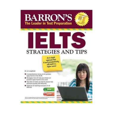 harga Barron's IELTS Strategies and Tips with MP3 CD Blibli.com