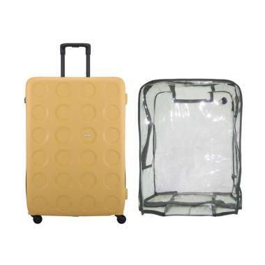 Lojel Bundling Vita 2 Koper Hardcase [Large/ 31 Inch + Luggage Cover Large