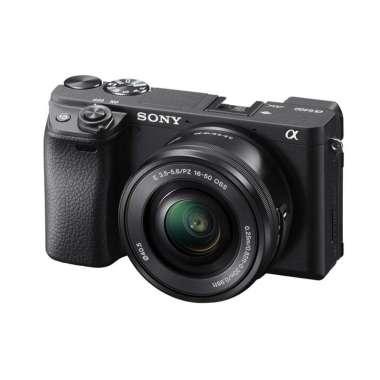 SONY A6400 Alpha 6400 Kit Kamera Mirrorless [16-50mm] Black
