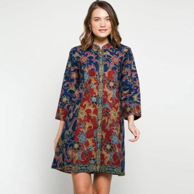 Andelly Batik 02 03 Dress Panjang Wanita