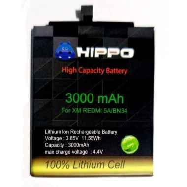 harga HIPPO Baterai Handphone for Xiaomi Redmi 5A Bn34 [3000 mAh] Blibli.com