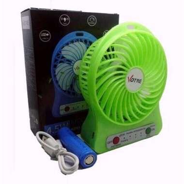 harga Votre Kipas Angin Mini Portable + powerbank Hijau Muda Blibli.com