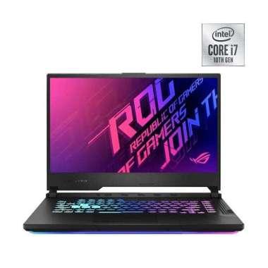 harga ASUS ROG STRIX-G G512LU-I766B6T Gaming Laptop [i7-10750H/8GB/512GB SSD/Nvidia GTX 1660Ti 6GB/15.6 Inch FHD 144Hz/WIN10] BLACK Blibli.com
