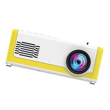 harga Portable Mini Projector Support 1080P Home TF Card Pocket EU Adapter - Blibli.com
