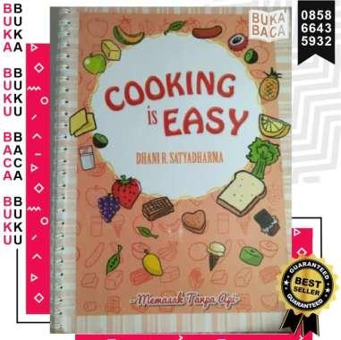 harga [BUKABACA] COOKING IS EASY DHANI R SATYADHARMA MEMASAK TANPA API BUKU MASAK ASLI ORIGINAL Blibli.com