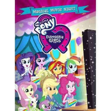 harga Film DVD Animasi My Little Pony- Equestria Girls Magical Movie Night Blibli.com