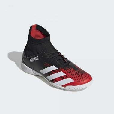 harga ADIDAS Predator 20.3 indoor Sepatu Futsal Anak [EF1954] 5.5 Core Black Ftw White Actred