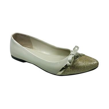 Beauty Shoes 1143 Flat Shoes - Cream