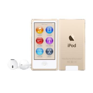 Jual Apple iPod Nano 7 16 GB Portable Player - Gold Harga Rp 2469000. Beli Sekarang dan Dapatkan Diskonnya.