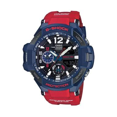 Casio G-Shock GA-1100-2ADR Jam Tangan Pria - Red Blue