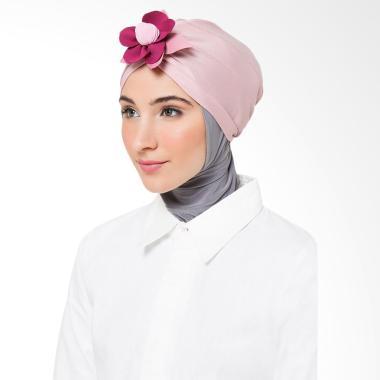 Tiras Collection Turban Fleuri Hijab - Pink