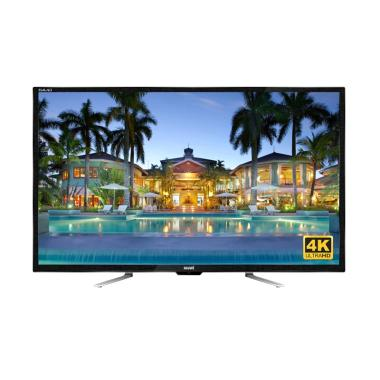 Akari 55D88 UHD LED TV - Hitam [55 Inch/4K/USB Movie]