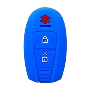 Autorace Silicone Cover Kunci Mobil for Suzuki Ertiga - Biru