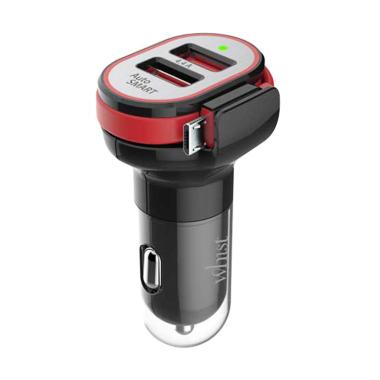 HIPPO Whist Dual Micro USB Car Charger
