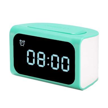 Remax Original Zmart RMC-05 HUB Alarm Clock - Biru [4 USB Hub]