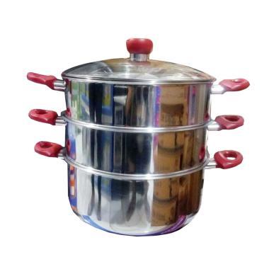Panci Kukus Supra 3 Susun -  Panci Steamer [32 cm]