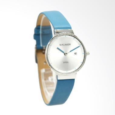 Balmer B.6002L Jam Tangan Wanita - Biru Silver