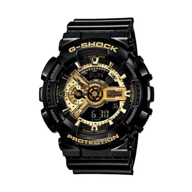 CASIO G-Shock GA-110GB-1A Jam Tangan Pria - Black Gold