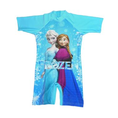 Nice ABG Motif Frozen Baju Renang - Biru Muda