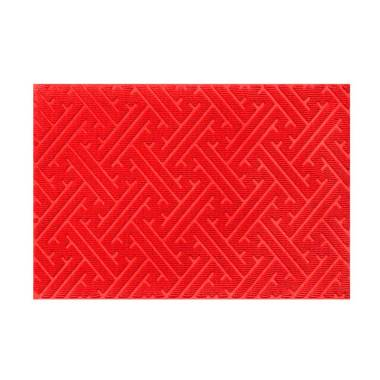 Rosanna CR023 Doormat Keset - Merah [60 x 40 cm]