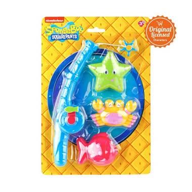 Disney Spongebob SquarePants Fishing 03 Set Mainan Anak