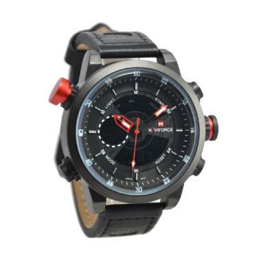 Naviforce NF9081M Jam Tangan Pria - Black