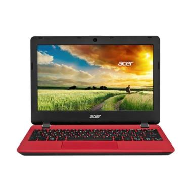 Acer Aspire ES1-132 Notebook - Red  ... /Win10] + Free Sleevecase