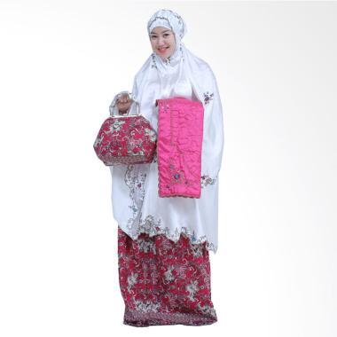 Yumna Mukena Behel Batik Cilembang Ungu