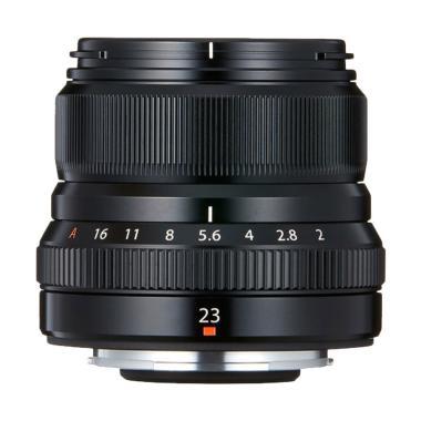 harga Lens - Fujifilm XF 23mm f/2 R WR Lens (Black) Blibli.com