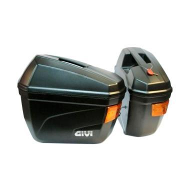 Givi E22NS Side Box Motor + Bracket SBL2000 - Black