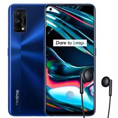 harga Realme 7 Pro Smartphone [128GB/ 8GB] + Free Realme Buds Classic Headset Mirror Blue Blibli.com