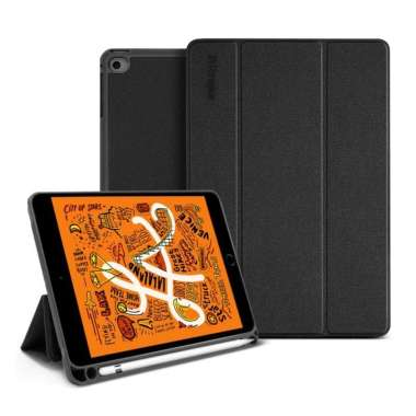 harga Case iPad Mini 5 2019 Ringke SmartCase Magnetic Folio Leather Casing iPad Mini 5 2019 hitam Blibli.com
