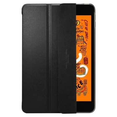 harga Case iPad Mini 5 2019 SPIGEN Smart Fold Super Slim Leather Magnetic Cover Casing iPad Mini 5 2019 hitam Blibli.com