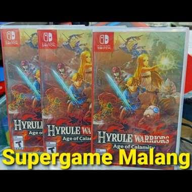 Jual Switch Hyrule Warriors Age Of Calamity Online Januari 2021 Blibli