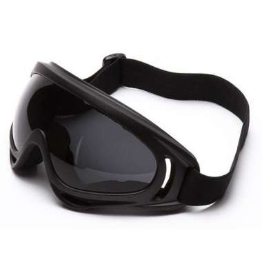harga Kacamata aksesoris Motor | goggle mask motor | Masker Helm - hitam Blibli.com