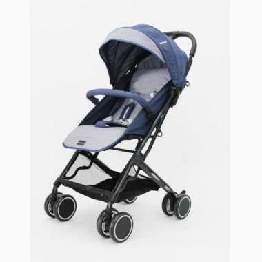 harga BabyDoes CH-2104 SN Normax Kereta Dorong Bayi Blue Blibli.com