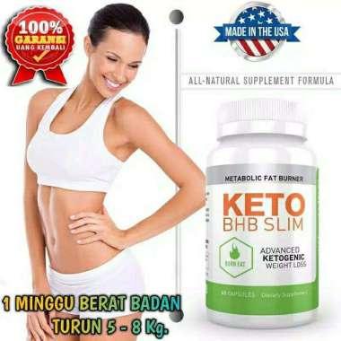 harga Metabolic-fat-burner-suplement-obat-diet-Pelangsing-badan-Keto-Bhb-Slim-asli-100%-Originl Blibli.com