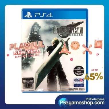 harga PS4 Final Fantasy VII Remake Region 3 Blibli.com