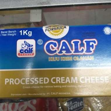 harga CALF CREAM CHEESE 1KG halal tidak perlu kulkas siap saji Blibli.com