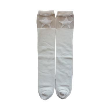 Mom Star Kaos Kaki Anak Perempuan - Putih [2-6 Tahun]