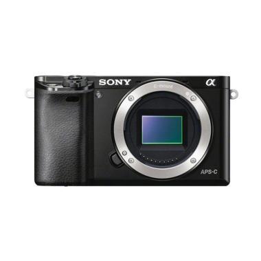 Sony A ILCE 6000 BO Kamera Mirrorless - Black