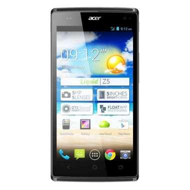 harga Acer Z150 Liquid Z5 Smartphone ( Ram 512MB / Rom 4GB ) - Gentle Grey Blibli.com