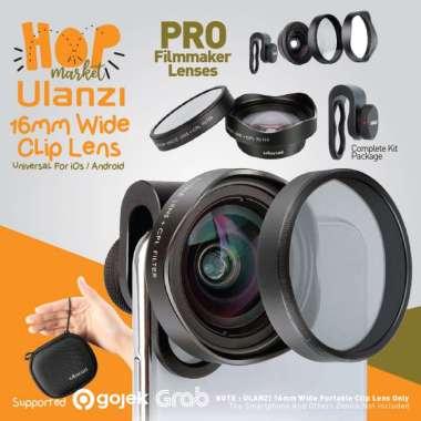 harga ULANZI 16mm Wide Angle Lens w/ CPL Filter Lensa Mobile Universal Smartphone HP BLACK Blibli.com