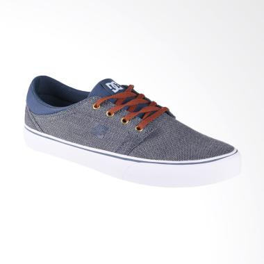 DC Trace TX SE M Shoe Sepatu Sneaker Pria - Navy White ADYS300123-NWH