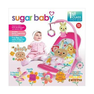 Sugar Baby Fold Up Infant Seat Rossie Rabbit