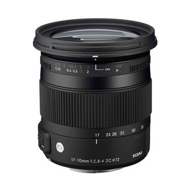 Sigma Lens 17-70mm f/2.8-4 DC Macro OS HSM u/ Nikon (C)